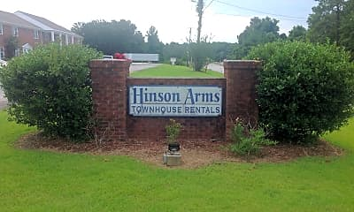 Hinson Arms Townhome Apartments, 1