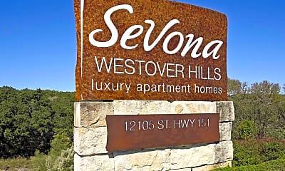 Community Signage, Sevona, 2