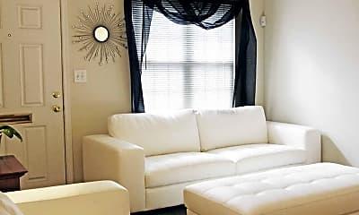 Living Room, Crossroads Townhomes, 1