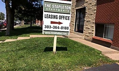 The Stapleton Apartment, 1