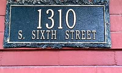 Community Signage, 1310 S 6th St, 2