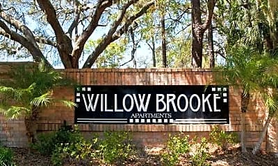 Community Signage, Willow Brooke, 2