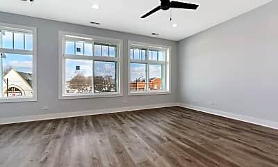 Living Room, 5306 W Devon Ave 3, 1