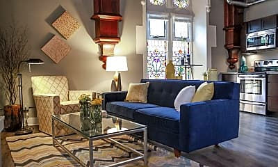 Living Room, Lofts on Prospect, 1