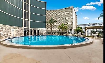 Pool, 4850 Ocean Beach Blvd 108, 2
