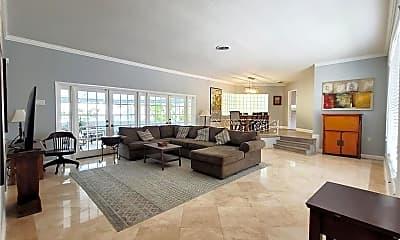 Living Room, 1301 Van Buren St, 2