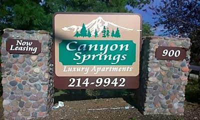 Canyon Springs Apartments, 1