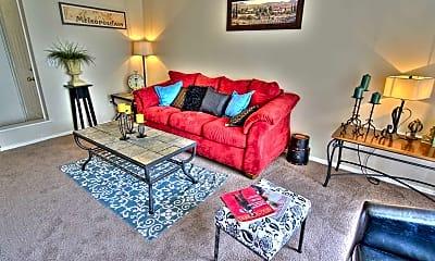 Living Room, Rosemont Apartments, 1