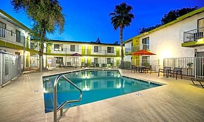 Pool, Dwell Apartment Homes, 1