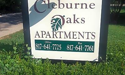 Cleburne Oaks Apartments, 1