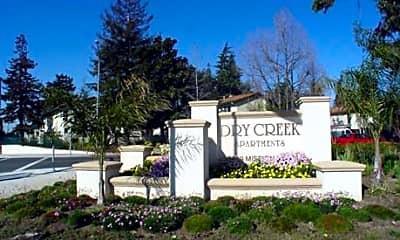 Community Signage, Dry Creek Apartments, 0