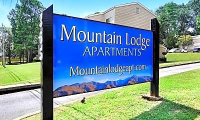 Community Signage, Mountain Lodge, 0