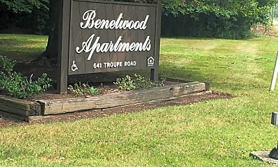 Benetwood Apartments, 1
