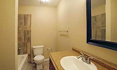 Bathroom, Hamilton Place Apartments, 2