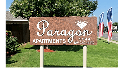 Community Signage, Paragon Apartments, 0