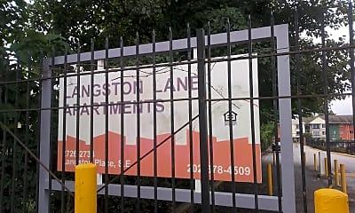 Langston Lane Apts, 1
