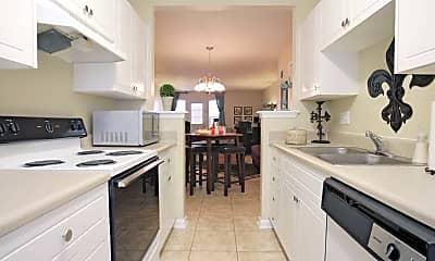 Kitchen, Iron Horse Apartments, 2