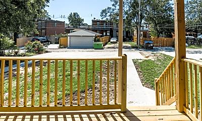 Patio / Deck, 4318 Chouteau Ave, 2