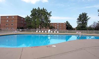 Pool, Dorchester Village, 1