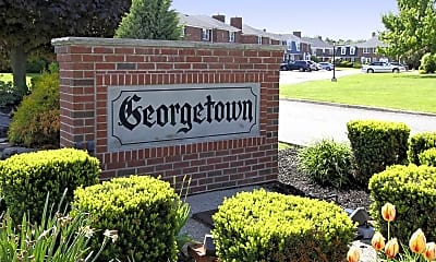 Community Signage, Georgetown Apartments Of Amherst, 0