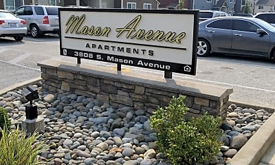 Mason Avenue Apartments, 1