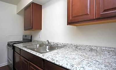 Kitchen, San Juan Apartments, 1