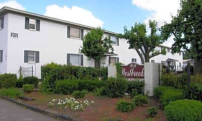 Community Signage, Westgate Apartments, 0