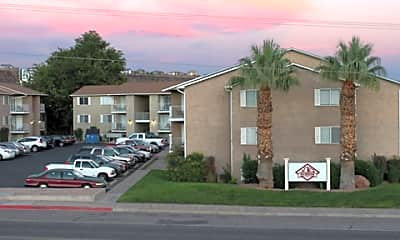 Building, Red Mountain Student Living, 1