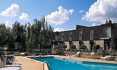 Pool, Narrow Lane Villas Apartments, 1
