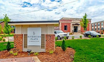 Community Signage, Riverside Flats at Aberfoyle, 2