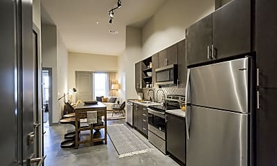 Kitchen, The Flats at Silo Bend, 1