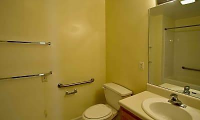 Bathroom, Stone Hill Senior Apartments, 2