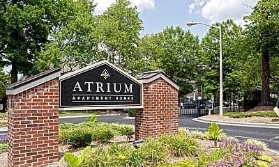 Community Signage, The Atrium, 2