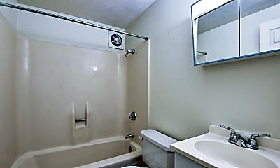 Bathroom, Brayton Hill Apartments, 2