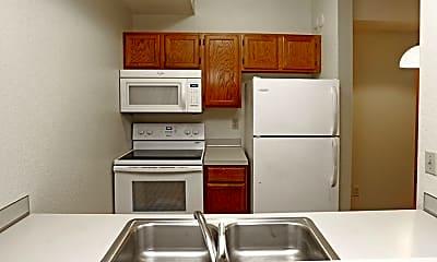 Kitchen, Mount Curve Apartments, 1