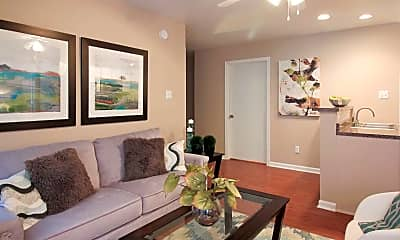 Living Room, Crossing at Cherry, 1