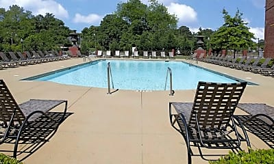 Pool, The Lofts Of Greenville, 1
