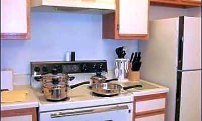 Kitchen, Riverroad Apartments, 1
