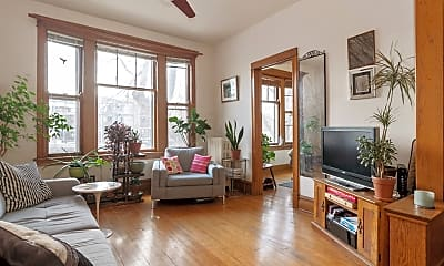 Living Room, 1403 N Wicker Park Ave 3, 1