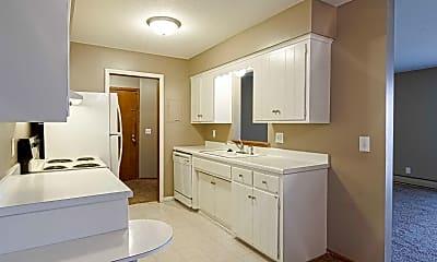 Kitchen, Riverwest Apartments, 1