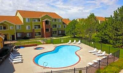 Pool, Creekstone Apartments, 0