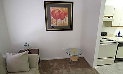Living Room, University Place Apartments, 1