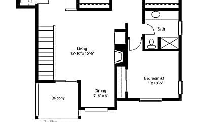 Bathroom, 1721 Patterson Alley, 2