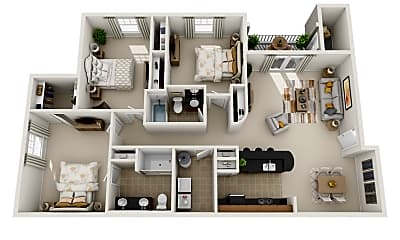 Southern Pine Apartments, 2
