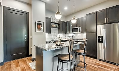 Kitchen, The Hudson Dallas Apartments, 0