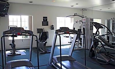 Fitness Weight Room, Bloomfield Villas, 2