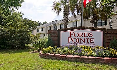 Community Signage, Fords Pointe, 2