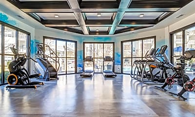 Fitness Weight Room, The Enclave at Rivergate Apartment Homes, 2