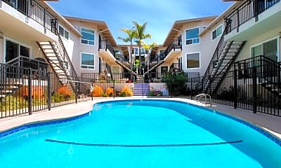 Pool, 460 Camino Del Mar 17, 1