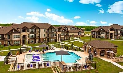 Pool, Cedar Ridge Apartments, 1